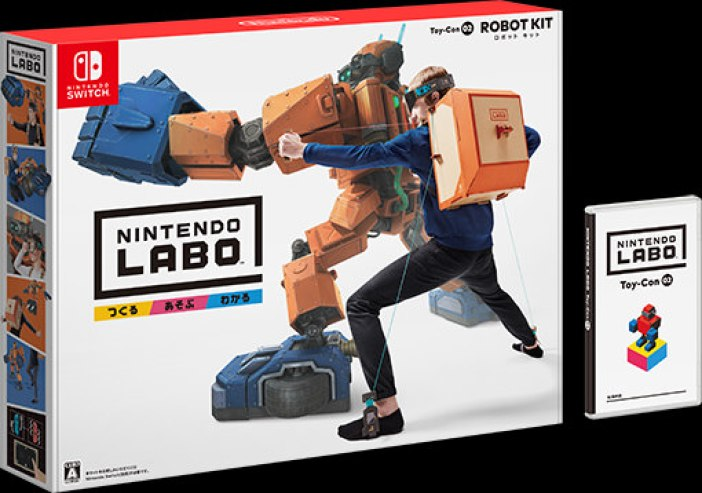 Image result for Nintendo Labo Toy-Con 02: Robot Kit