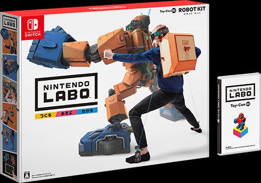「Nintendo Labo Toy-Con 02: Robot Kit」の画像検索結果
