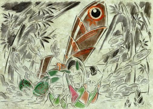 art_Okami-Kaguya-Spaceship