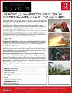 Skyrim-Fact-Sheet