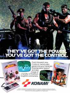 Nintendo Fun Club News | Feb-Mar 1988 Contra Jackal Ad