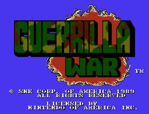 Guerilla War (Home) 01