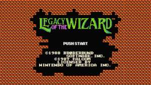 Legacy of the Wizard (NES) Game Hub