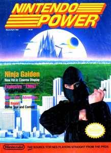 Nintendo Power | March April 1989 p001