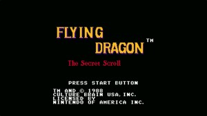 Flying Dragon: The Secret Scroll (NES) Game Hub