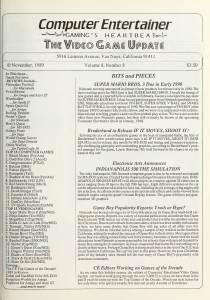 Computer Entertainer | November 1989 p1