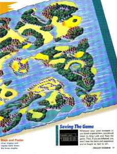 Nintendo Power | November December 1989 | Dragon Warrior Strategy Guide pg-19