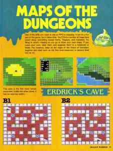 Nintendo Power | November December 1989 | Dragon Warrior Strategy Guide pg-29