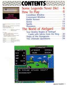 Nintendo Power   November December 1989   Dragon Warrior Strategy Guide pg-3