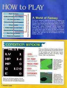 Nintendo Power   November December 1989   Dragon Warrior Strategy Guide pg-6