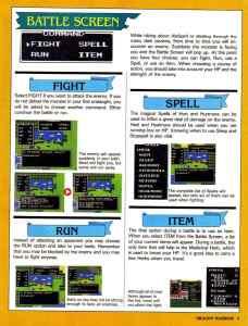 Nintendo Power | November December 1989 | Dragon Warrior Strategy Guide pg-9