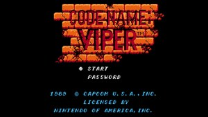 Code Name: Viper (NES) Game Hub