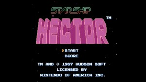 Starship Hector (NES) Game Hub