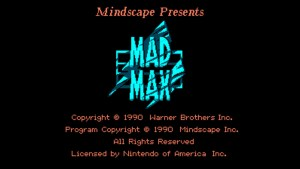 Mad Max (NES) Game Hub