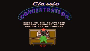 Classic Concentration (NES) Game Hub