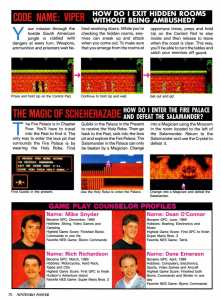 Nintendo Power | July August 1990 p-070