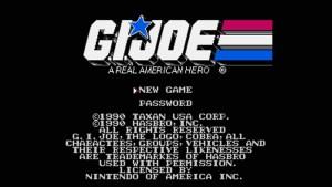 G.I. Joe: A Real American Hero (NES) Game Hub
