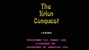 Krion Conquest (NES) Game Hub