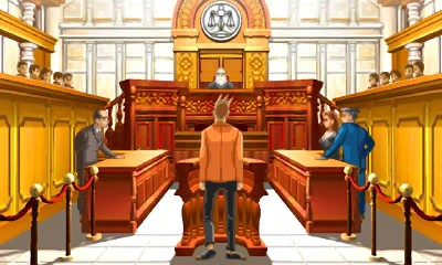 Ace Attorney Trilogy Court