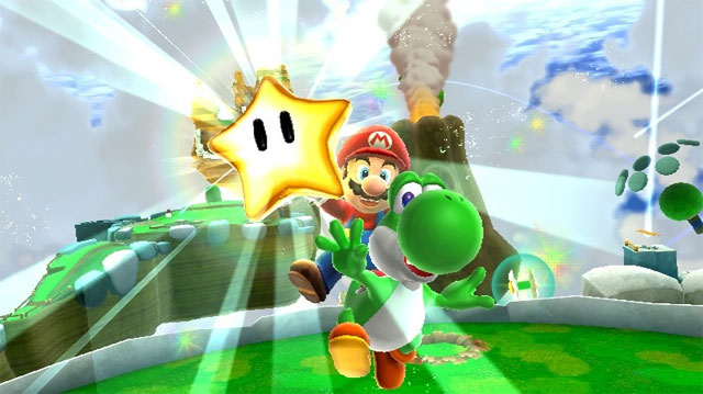Super Mario Galaxy 2 Power Star