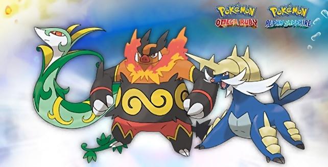 Pokemon Omega Ruby Alpha Sapphire Unova Starters (Revised)