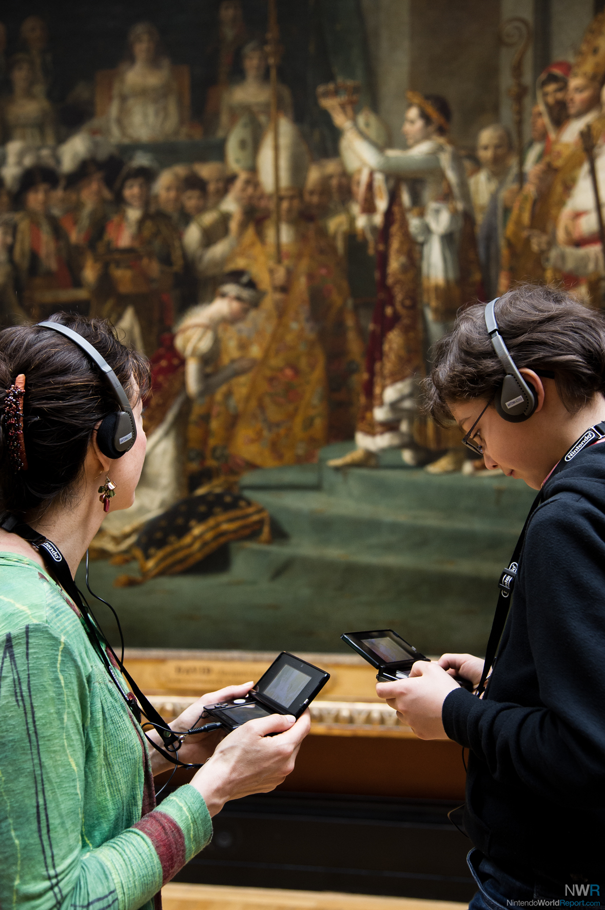 Nintendo 3DS Audio Guides Available At Louvre Museum