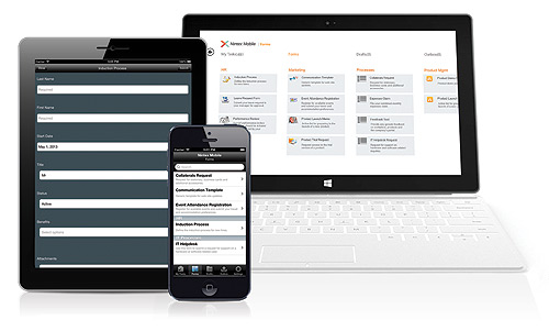 Nintex Mobile Seamless Workflow At Your Fingertips