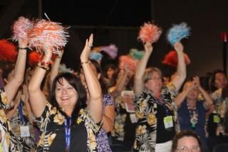 Convention delegates photo