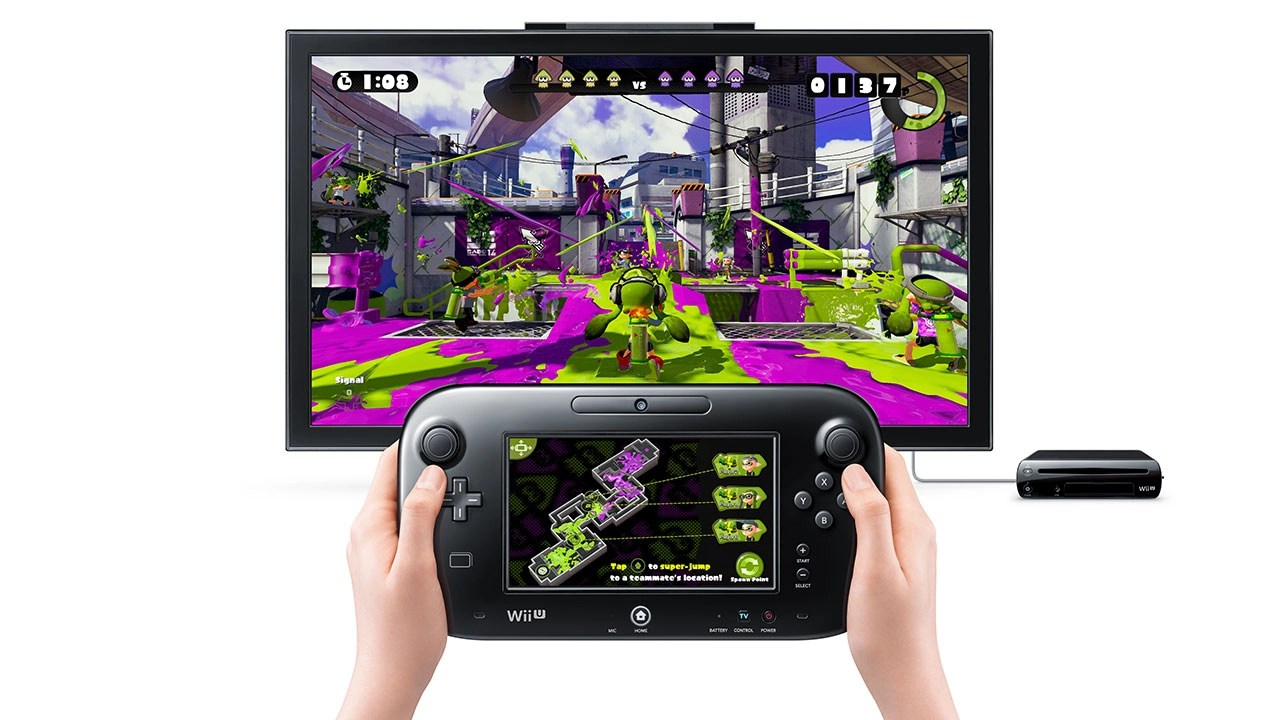 Splatoon GamePad Screenshot