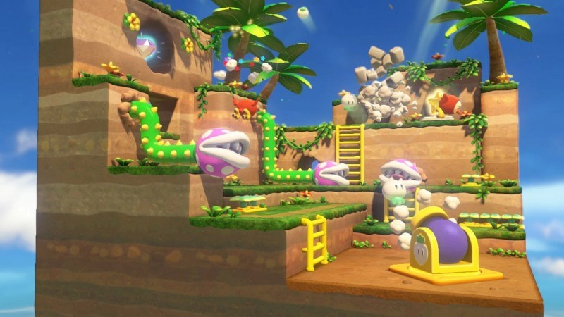 CaptainToad-CreeperPirhanaPlants