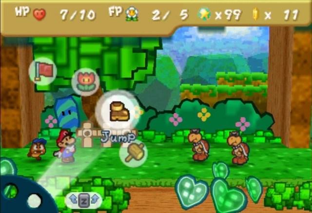 Paper Mario Battle System