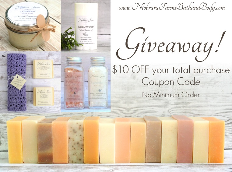 Giveaway – $10 Off Coupon Code!