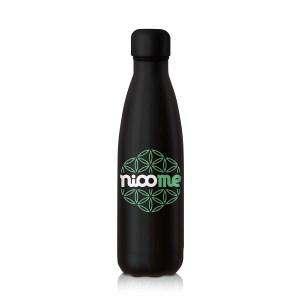 Bouteille thermos Chilly's Nioome Noir pour boisson chaud et froide