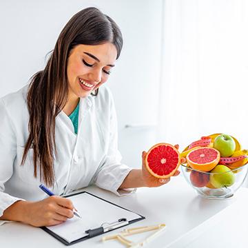 Prendre rendez-vous avec un nutritionniste ou un diététicien