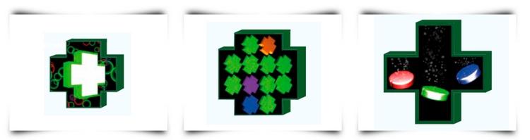 3 Croix LED