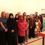 CLM  Author Vicci Tucci's visit to Abu Dhabi, UAE