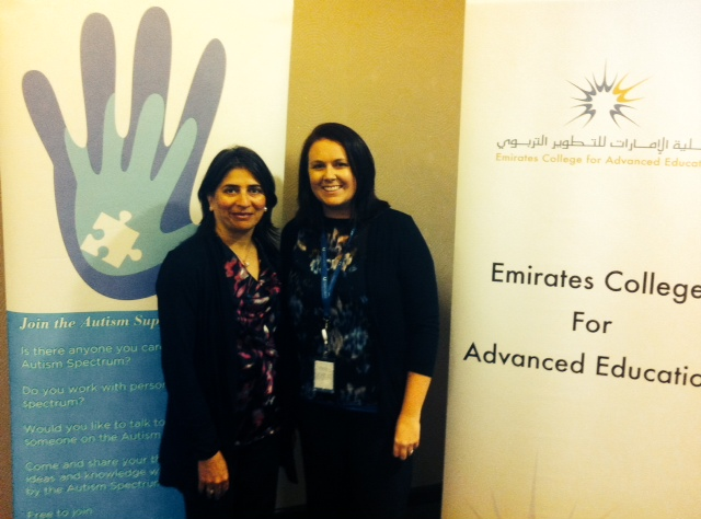Nipa Bhuptani (ASN) and Dr. Michelle Kelly (ECAE)