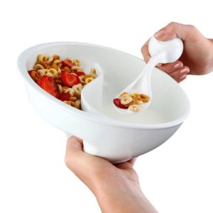 never soggy always crunchy cereal bowl