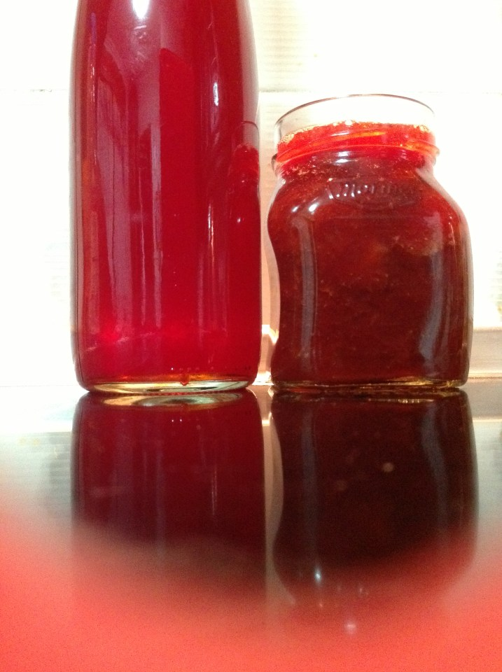 Strawberry preserves