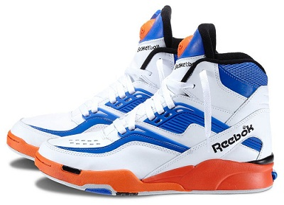 trainers with pump technology from reebok