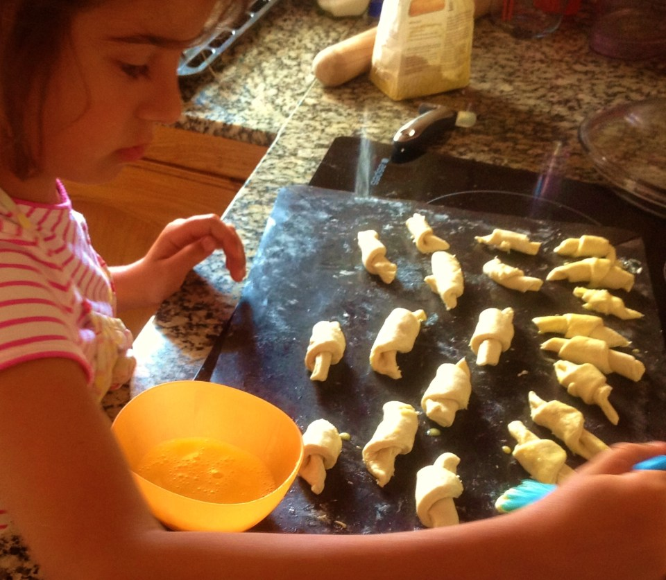 cooking with children is about spending quality time together