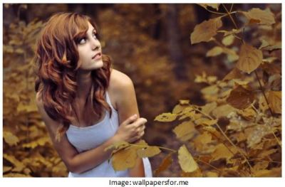 fall fashion and hair color