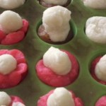 making soap cupcakes with children
