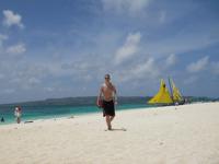 Johan at Puka-Shell beach