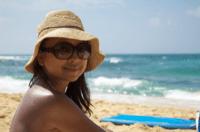 Chie at Kiahuna beach