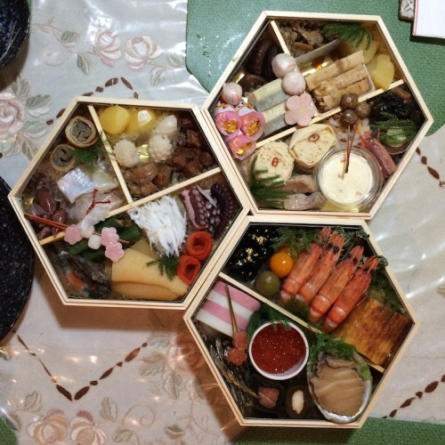 Japanese preserved food.