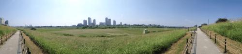 Tama river and Kawasaki (maybe)