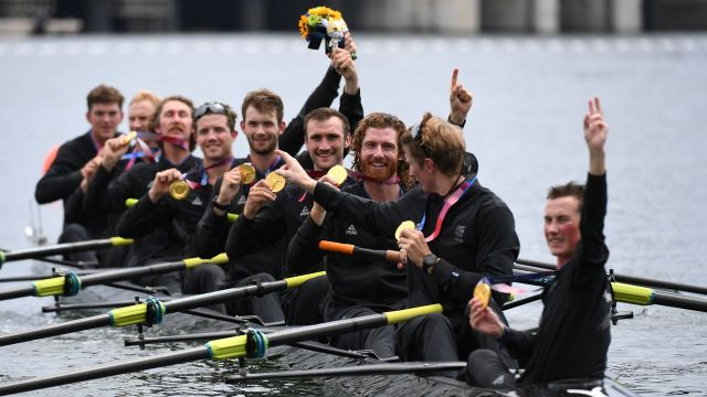 Olympics-Rowing-New Zealand win gold in men's eight | Nippon.com