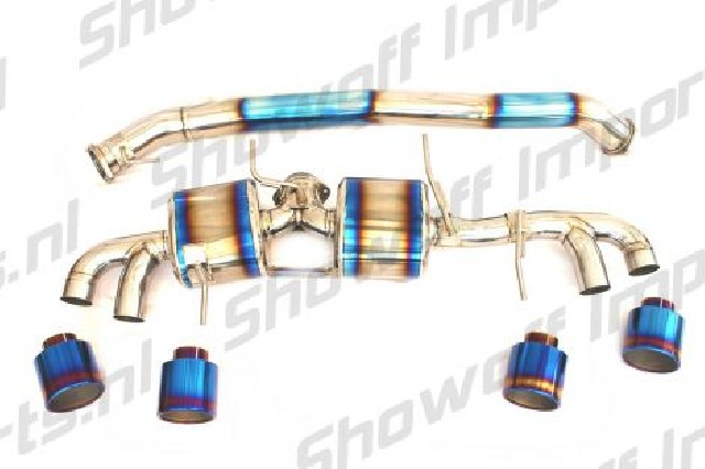 linney gtc titan titanium exhaust 102mm
