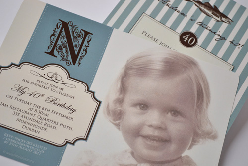 Personalised Invitations from Macaroon